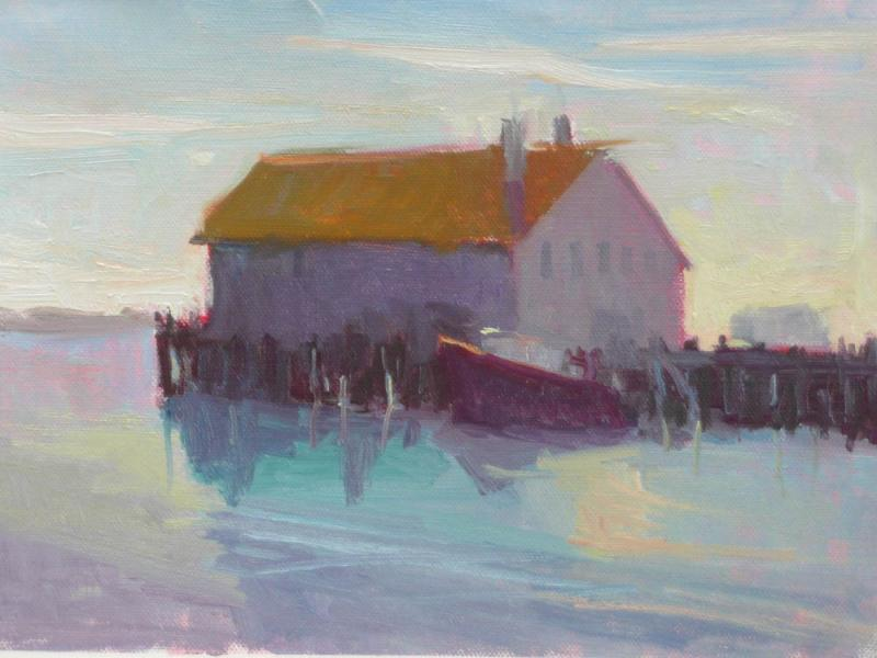 Plein Air Landscape Painting - Cape Cod Icon